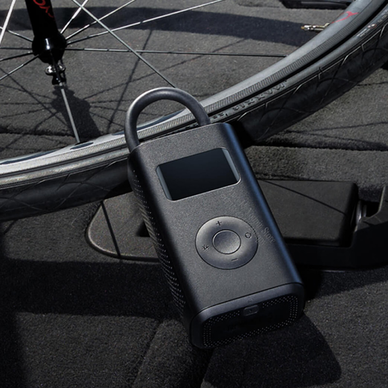 Image 3 - New Original Xiaomi Mijia Portable Smart Digital Tire Pressure  Detection Electric Inflator Pump for Bike Motorcycle Car FootballSmart  Remote Control