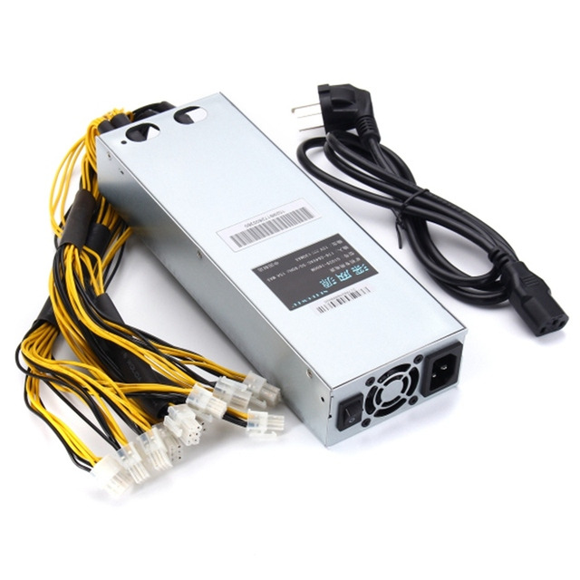 176-264V AntMiner APW3-12-1600 PSU Mining Machine 1600W Power Supply High Quality computer power Supply For BTC