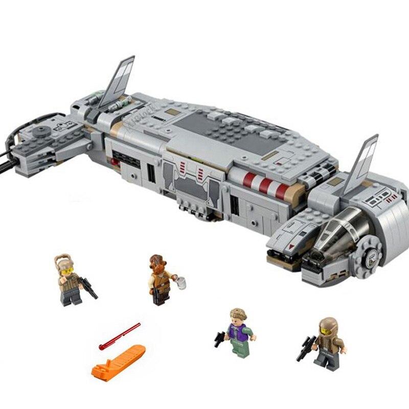 font-b-starwars-b-font-toy-compatible-legoing-star-wars-resistance-troop-transporter-model-building-blocks-673-pcs-bricks-toys-for-children
