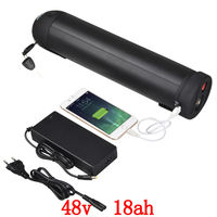 EU US No Tax 48v 18ah Electric Bicycle Lithium Ion Battery 48v 18ah Water Bottle E