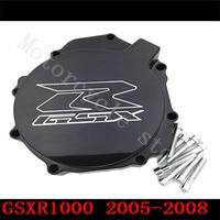 Fir for Suzuki GSXR1000 GSXR 1000 2005 2008 Motorcycle Engine Stator cover Black left side K5 K7