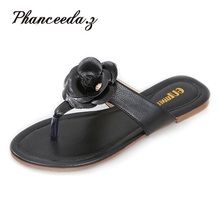 New 2017 Casual Shoes Women Sandals Sandalias Mujer Summer Style Fashion Flip Flops Good Quality Flats