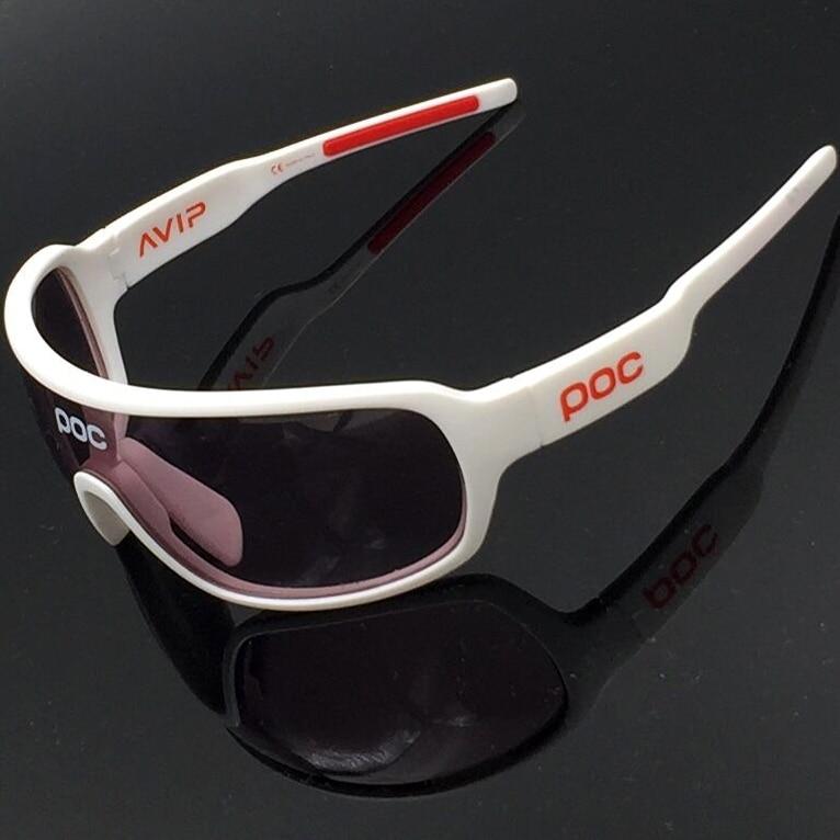 Prix pour POC lunettes de Soleil Polarisées 2017 VTT 4 Lentilles Vélo Lunettes Hommes Femmes gafas ciclismo Sport Vélo Lunettes Extérieure lunettes de Vélo Lunettes