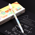 0.8MM White Ink Color Photo Album Gel Pen Stationery Office Learning Cute Pen Unisex Pen Gift for Kids gp801 free Shippingn
