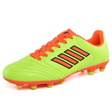 Men Boy Kids Soccer Cleats Turf Football Soccer Shoes TF Hard Court Sneakers Trainers New Design Football Boots nike new arrival 2017 magistax onda ii tf men s comfortable football shoes soccer shoes 844417 808