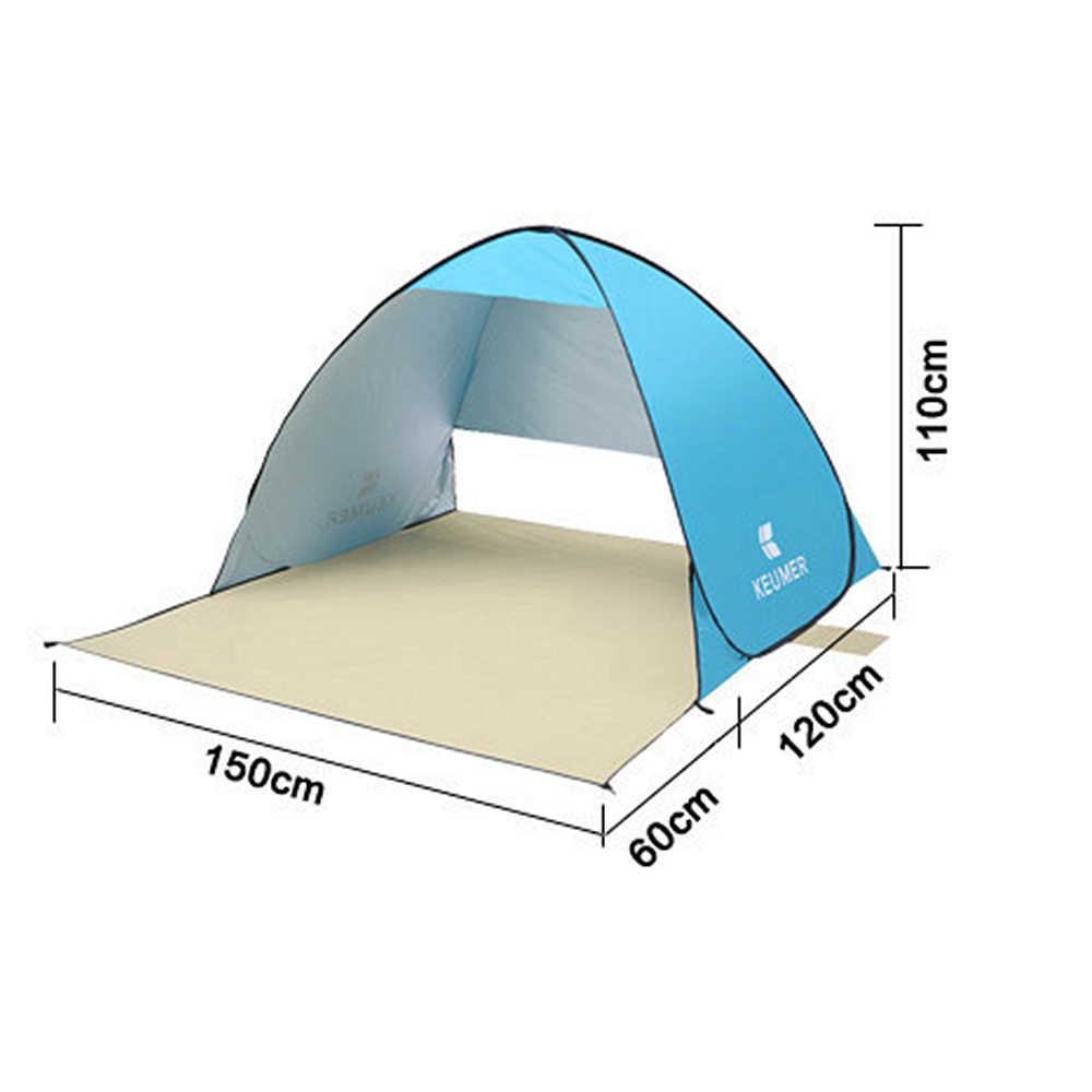 Albreda Anti-Uv Onderdak Automatische Opening Strand Tent Pop Up Outdoor Portable Zomer Waterdichte Camping Vissen Tenten Ultralight