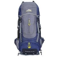 Large Capacity Rucksacks Camping Sports Bag 60L Outdoor Backpack Travel Mountain Climbing Backpacks Hiking Bagpack Mochila