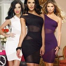 Women Ladies Sexy Fashion Bodycon Party Pencil Club Mini Dress 2019 Black Evening Vestidos