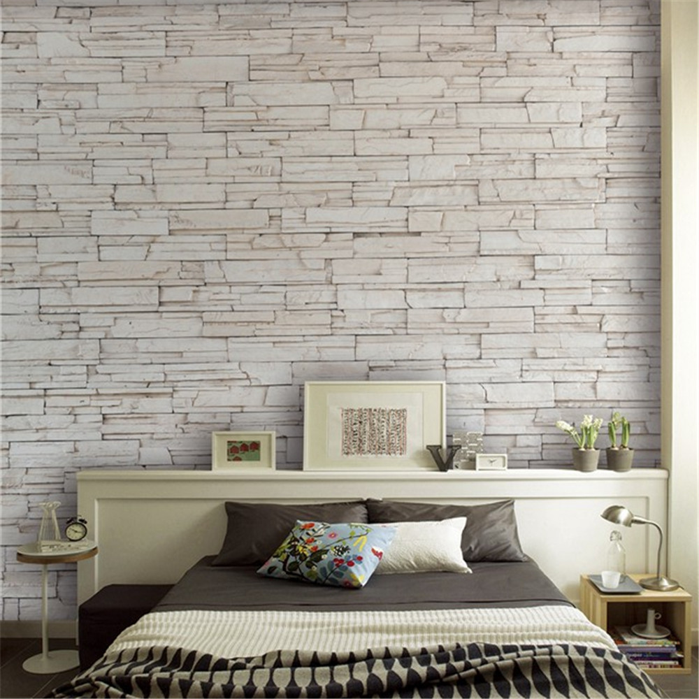 White Stone Tile Texture Brick Wall stone paper wallpaper ...