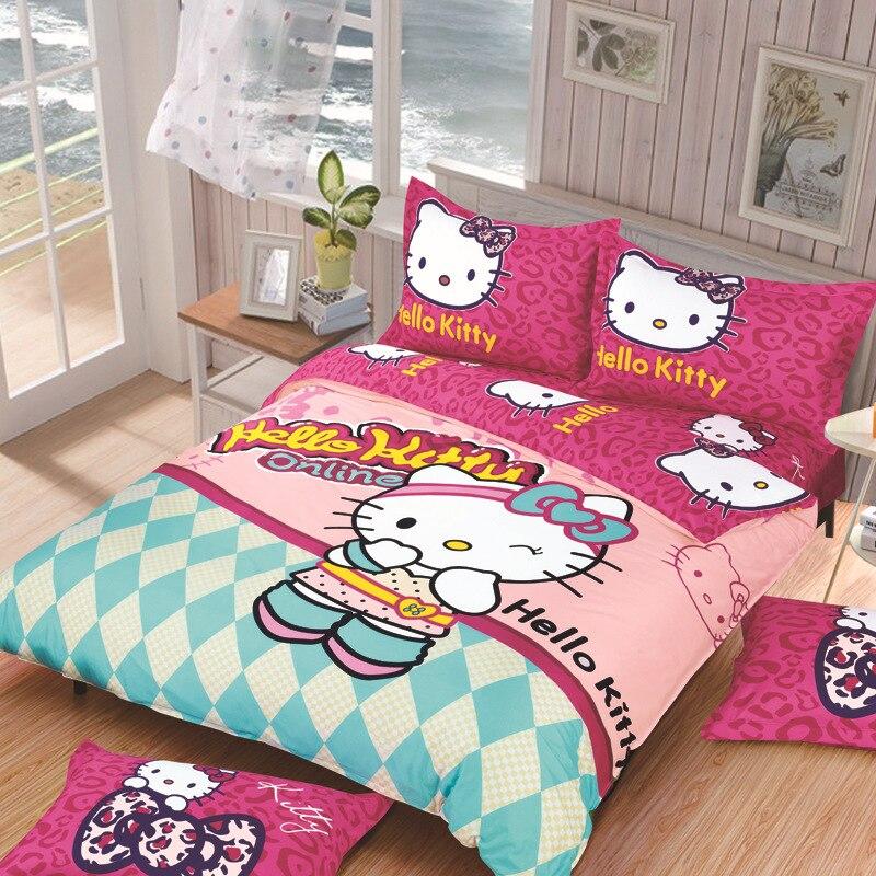 Hello Kitty voodipesukomplektid