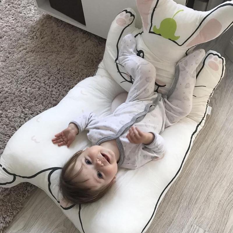 Kocyk dla dzieci Kocyk dla królika Gra Mata dla dzieci KAMIMI - Pościel - Zdjęcie 2