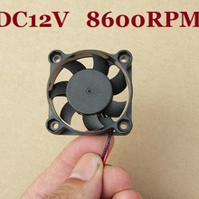 10 PCS/LOT DC6-12V 40x40x10 40mm 4010 Small Brushless Coolin