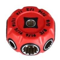 8 in 1 CR MO Mini Hohl Universelle Buchse Mehrzweck Reparatur werkzeug|Schraubenschlüssel|   -
