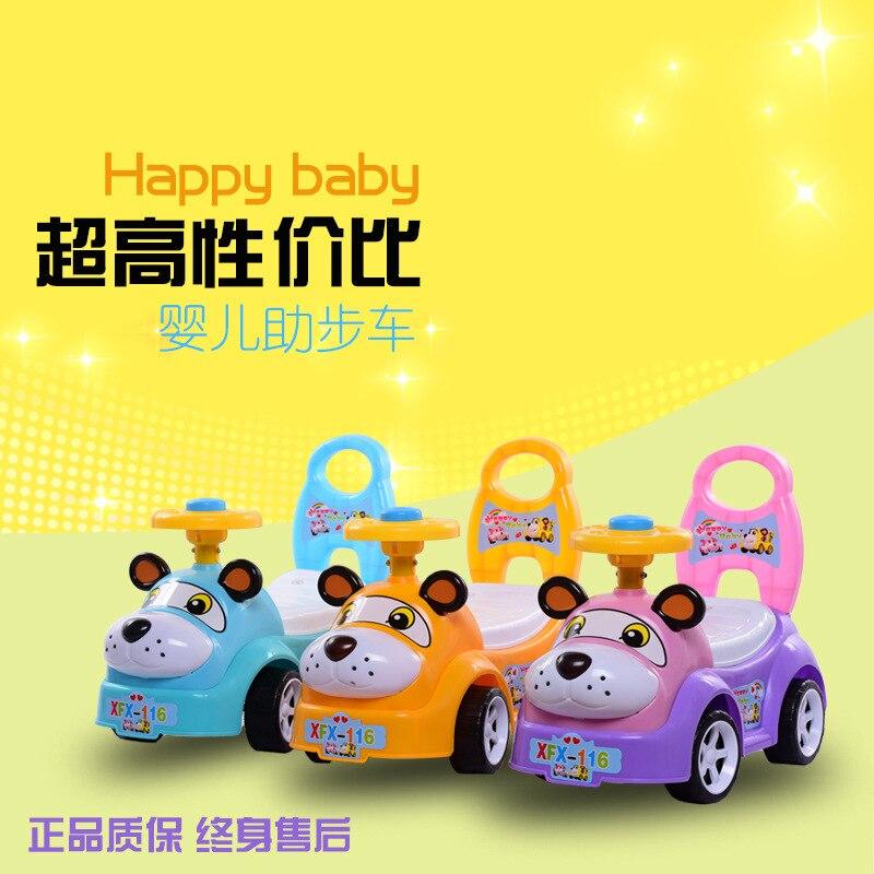 Le bébé jouet voiture pour enfants yo voiture twist voiture Walker scooter 1-3 ans avec de la musique