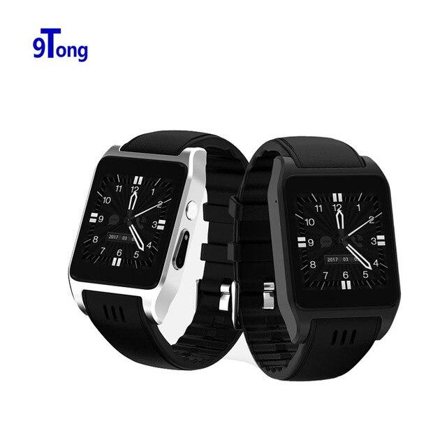 9 Тонг 3 г Wi-Fi Спорт Смарт часы ОС Android 5.1 Relogio Камера 2.0 Mega 512 МБ + 4 ГБ Часы телефон нано сим-карты Celular SmartWatch B2