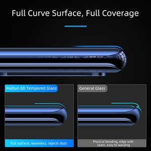 Image 3 - Ihaitun Cao Cấp 6D Kính Cường Lực Cho Huawei P40 Pro PE Lite Mate 30 P30 Pro P20 Giao Phối 20 Kính Cường Lực Bảo Vệ Màn Hình Trong Cho Huawei Mate20 P 30 bao Bọc Toàn Bộ Phim