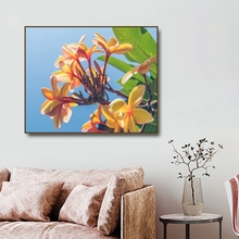 Yellow Flowers Canvas Painting Calligraphy PostersPrints For Living Room Bedroom House Wall Pictures Home Art Decoration Picture