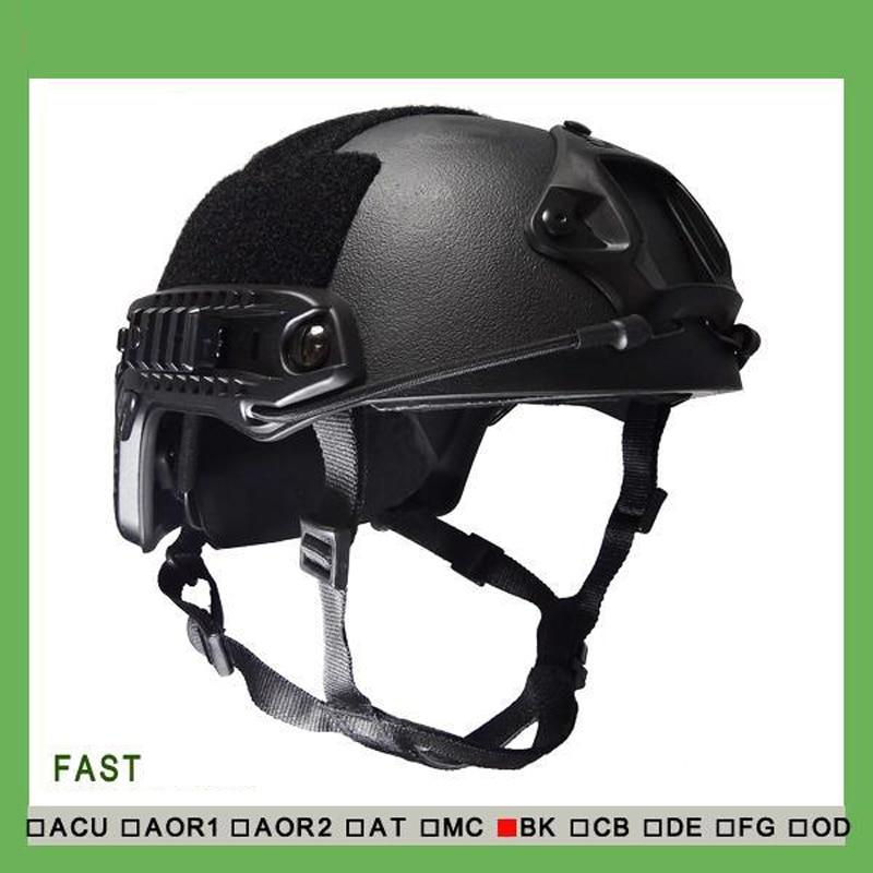 NIJ IIIA FAST Bulletproof Helmet (With Report)/ Ops Core FAST Ballistic Helmet/ Multi camo Bullet proof Helmet