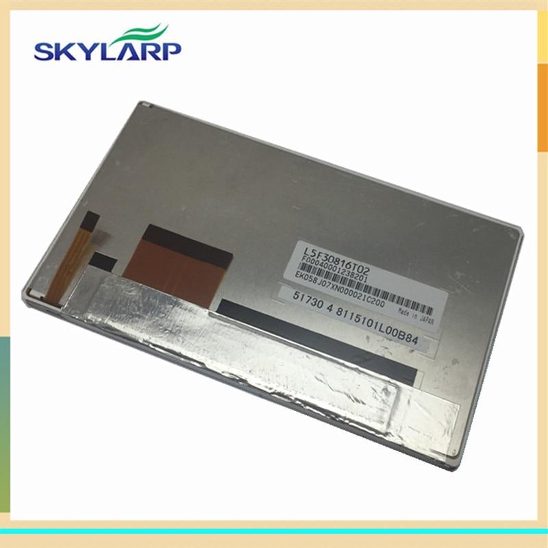 все цены на skylarpu LCD display panel for L5F30816T02 F00040001238201 8115101L00B84 EK058J07XN000021C200 (without touch) онлайн