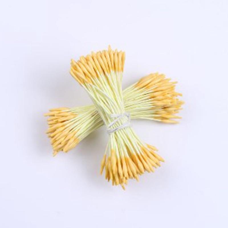 Billiger Preis 2018 Mixed Doppel Köpfe Diy Künstliche Mini Perle Blume Staubblatt Stempel Floral Staubblatt 140 Teile/los Künstliche Dekorationen
