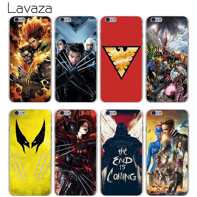 buy popular df61b 94f36 US $2.25 |Lavaza X Men Case for iPhone XS Max XR X 8 7 6 6S Plus 5 5s se-in  Half-wrapped Case from Cellphones & Telecommunications on Aliexpress.com |  ...
