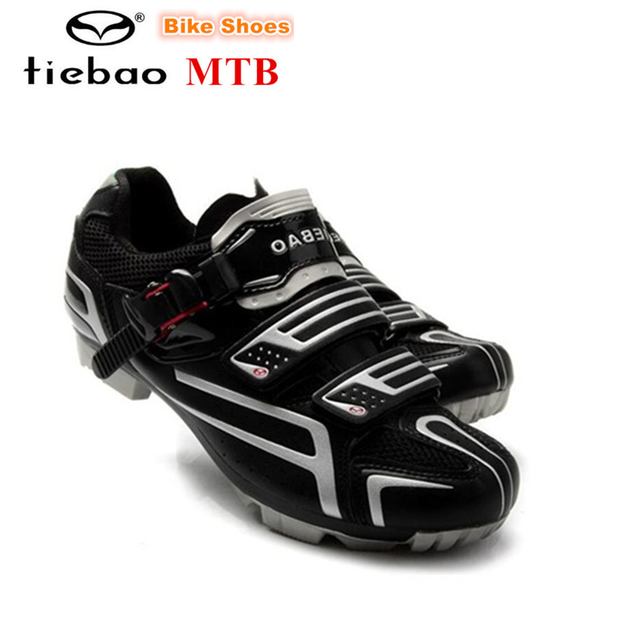 цена на TIEBAO cycling shoes 2018 Bicycle Shoes sapatilha ciclismo mtb zapatillas deportivas mujer mountain bike Ride women sneakers Men