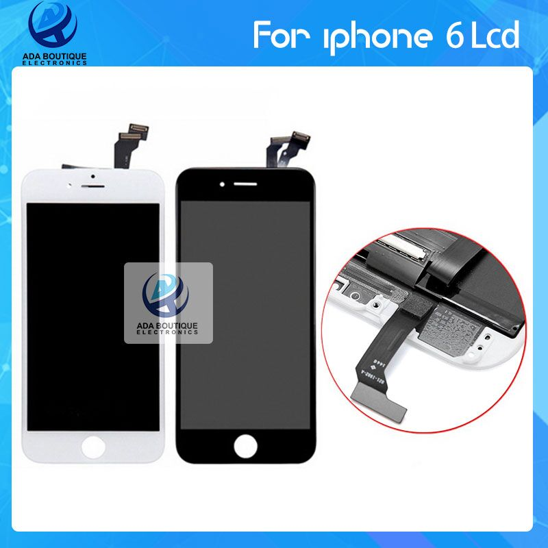 5 PCS/LOT Grade AAA for iPhone 6 plus LCD Display with Digitizer Replacement Original Color No Dead Pixel Free DHL Shipping