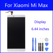 Original LCD For Xiaomi Mi Max Display Screen Digitizer Touch Screen Glass Panel 6.44 Inch Replacement FreeTools