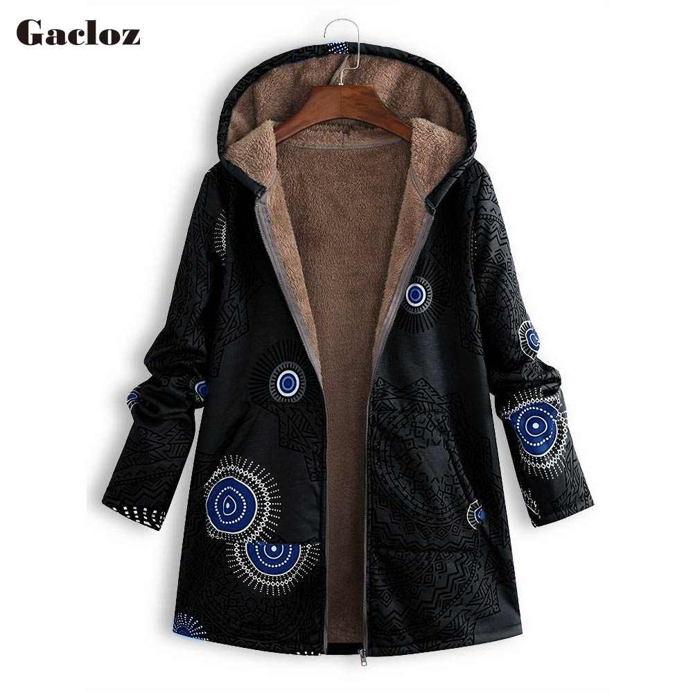 Coats Cotton Winter Jacket Women Outwear Coat Warm Outerwear Hooded Oversized Coats 2019 abrigos mujer invierno manteau femme