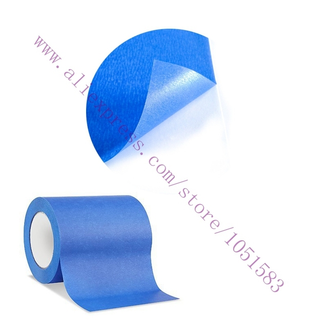 160mm x 30m blue painters tape 3d printer heat tape resistant high temperature polyimide adhesive - Blue Painters Tape