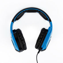 RCmall Gaming Headset Noise Cancelling Black&blue with Mic for Sades SA920