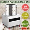 Türkei Huhn Plucker Zupfen Maschine Geflügel De-Feder 50 cm Edelstahl