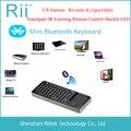 Rii mini i6 k06 Bluetooth клавиатура с пультом дистанционного управления и подсвечивающимся тачпадом для компьютера/планшета/Android/Smart TV Box