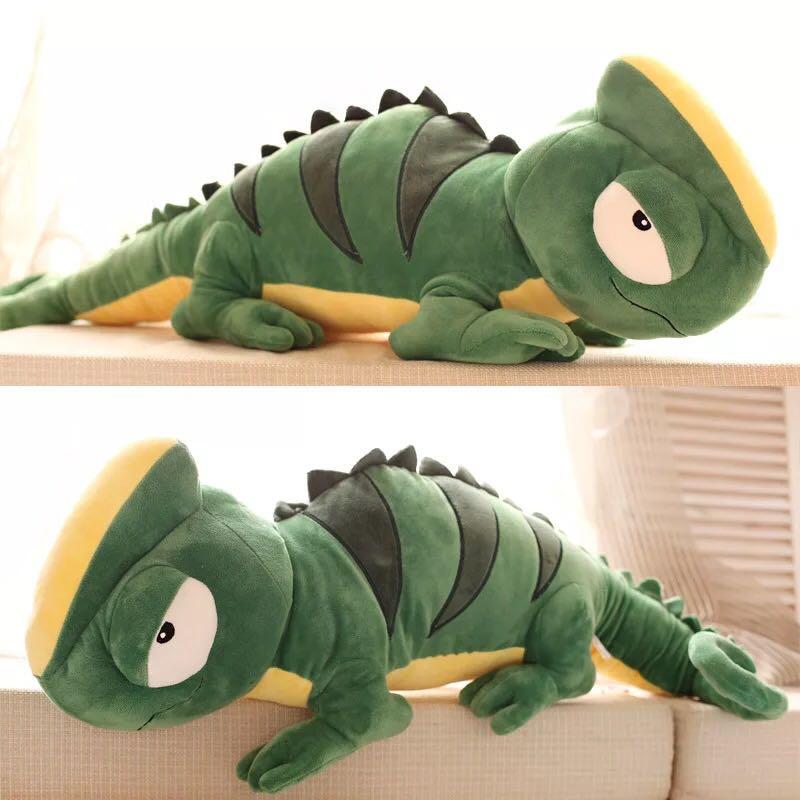 2016 big kawaii lizard plush toys chameleon plush dolls giant stuffed animal for birthday gift 56 cm kawaii simulation nine tailed fox dolls plush toys stuffed animal soft kid toys girl favorite birthday new year gift f066