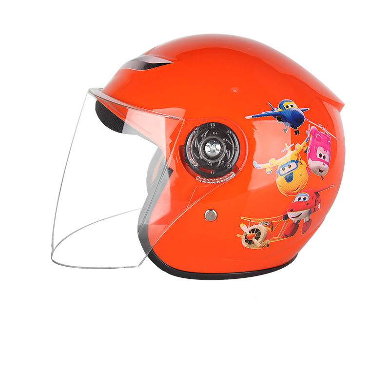 Children Motorcycle Helmet Winter Warm Comfortable Motor Boy Girl Safety Helmets