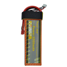 You&me New 11.1V 6000mAh 50C Max 100C 3S 11.1 Volt RC LiPo Li-Poly Battery for rc helicopter quadcopter
