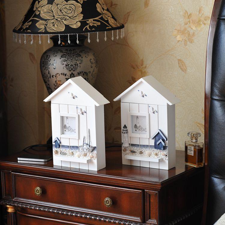 Forró eladási új lakberendezési dekorációs fali fa kulcstartó mediterrán stílusú otthoni lakberendezési fa kulcstartó otthoni dekoráció