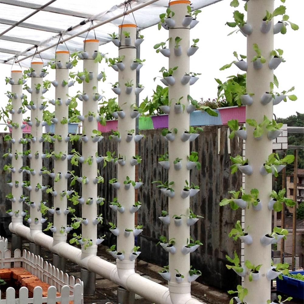 Diy Hydroponic Tower Garden