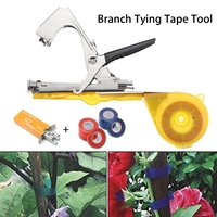 Plant Branch Hand Tying Binding Machine Flower Vegetable Garden Tapetool Tapener Tapes Garden Tools 1set