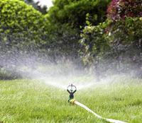 5m hose set with Spike plastic self rotating mist nozzle for 1/2'' garden hose irrigation system