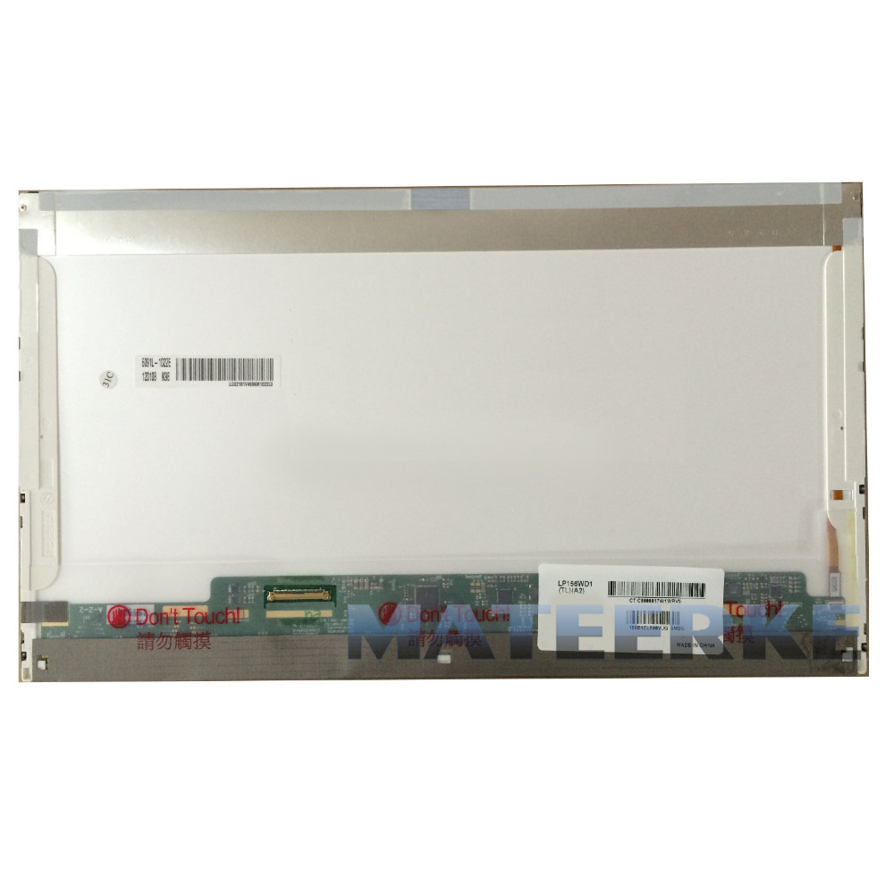 Free shipping For Dell Alienware M15X WSXGA HD+MT6KG 0MT6KG Laptop 15.6 LED Screen Display Replacement LP156WD1-TLA1 new laptop 15 6 led screen b156htn02 1 for dell latitude 3540 1920x1080