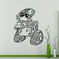Vinyl Sticker For Wall WALL E Decal Cartoons Robots Home Decor Ideas Interior Removable Kids Room