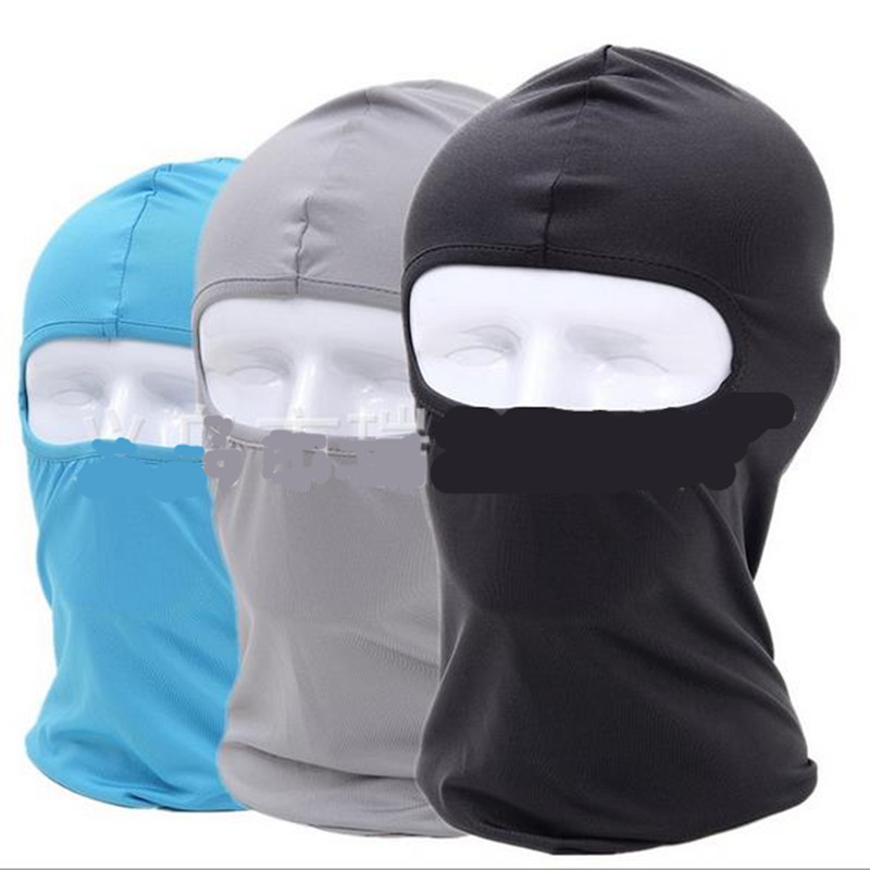 Ninja Headwear  Unisex Full Face Neck Guard Headgear Riding Hiking Hat Balaclava  Mask Windproof Skin Sports Cycling Masks