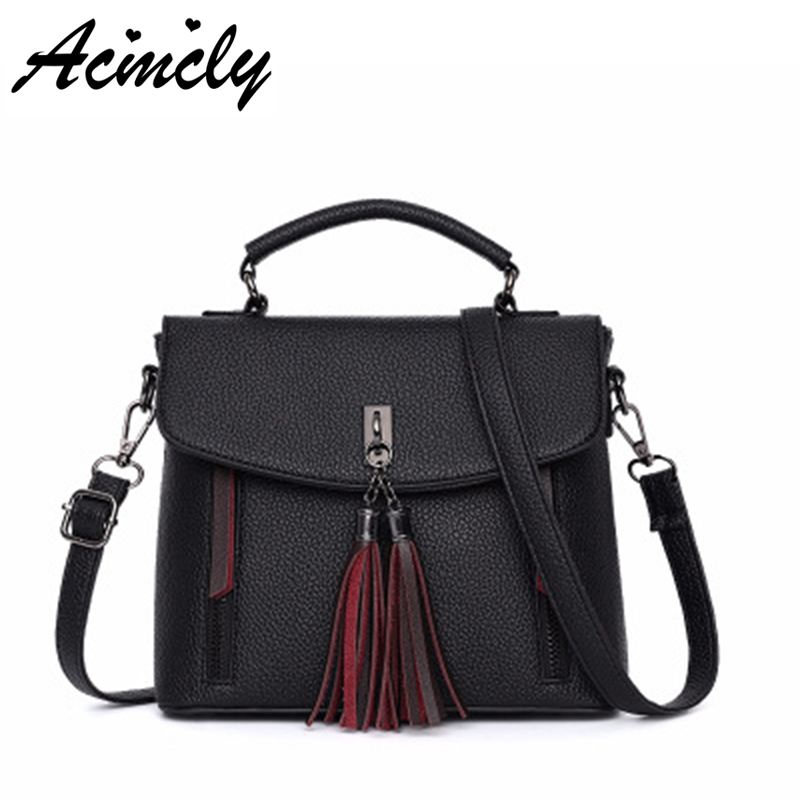 Women Handbags Fashion Famous Brand Ladies Vintage Big Capacity Tote Bags Tassel Designer Handbags Luxury Shoulder Bags A4911/o