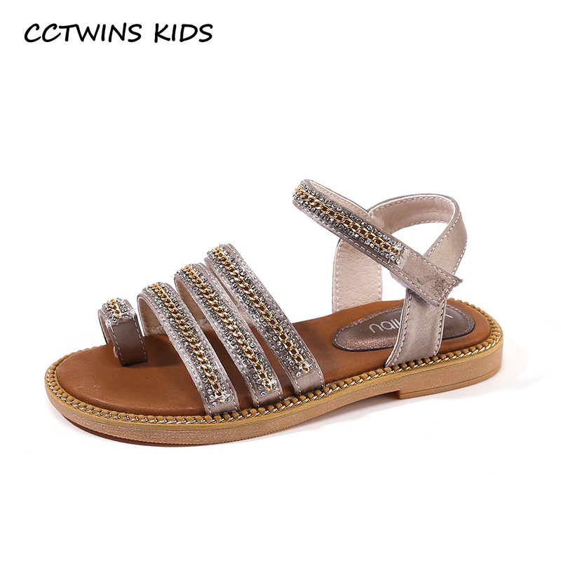 CCTWINS Kids Shoes 2019 Summer Girls Fashion Rhinestone Party Black Shoe Toddler Children Flat Princess Baby Brand Sandals PS575CCTWINS Kids Shoes 2019 Summer Girls Fashion Rhinestone Party Black Shoe Toddler Children Flat Princess Baby Brand Sandals PS575