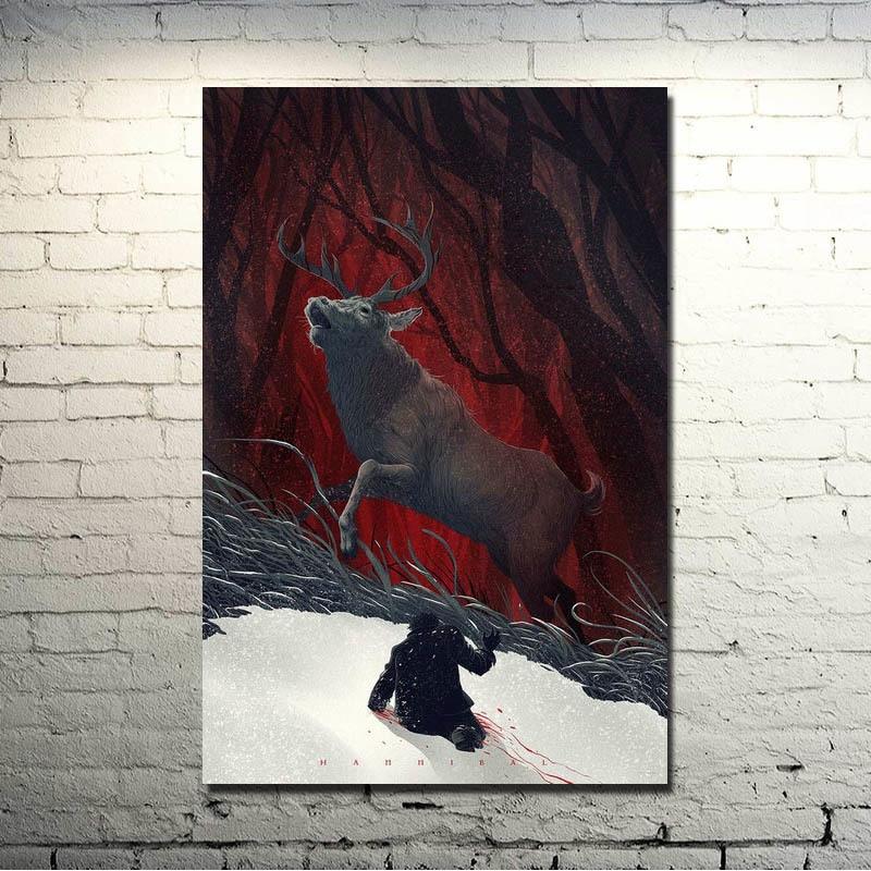 Hannibal Season 3 TV Series Art Silk Canvas Poster 13x20 24x36 inch