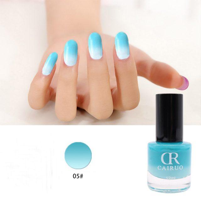 Tienda Online 12 ml 10 color marca CR temperatura color cambiante ...