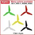 SYMA X5C, X5C-1,X5, X5SW, X5SW-1, X5SC Propellers rc Helicopter Quadrocopter Enhanced parts 4pcs/set  Blades Drone spare parts