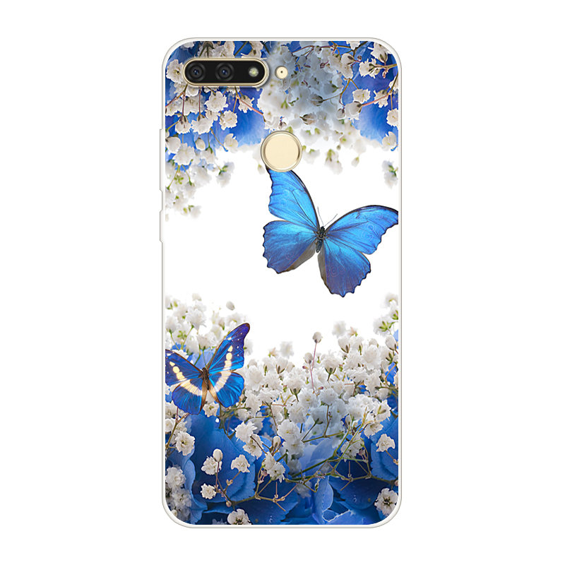 For Huawei Y6 Prime 2018 Case 5 7 Silicone TPU Cover Phone Case For Huawei Y6 Prime 2018 ATU L31 ATU L31 Y 6 Y6Prime 2018 Case in Fitted Cases from Cellphones Telecommunications