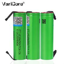 VariCore VTC6 3 7V 3000mAh 18650 akumulator litowo-jonowy 30A za udzieleniem absolutorium US18650VTC6 narzędzia e-baterie do papierosa + diy nikiel arkuszy tanie tanio 1-10 Baterie Tylko Pakiet 1 3000 mah Li-ion 18 4*66MM